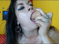 Aly Can Deepthroat Too