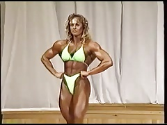 Female bodybuilder (Jitka Harazimova)