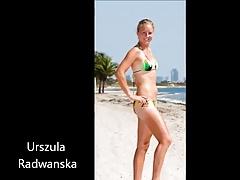 Tennis Stars in bikinis