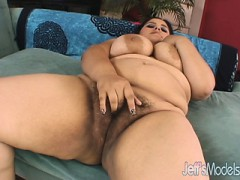 Overweight Temptress Karla Lane Fucks And Sucks A Lucky Guy