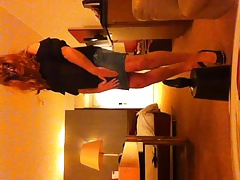 ik als travestiet in hotel, me as a shemale in a hotelroom