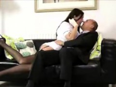 Sexy Mature Pornstair In Stockings Meets Lucky Amateur