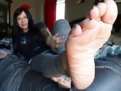 Sexy soles close up