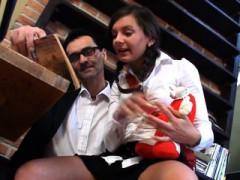 Lustful Teacher Devouring Lass