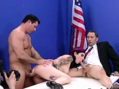 Tattooed Goth Fucked Hard