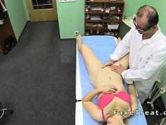 Doctor Fucks Milf Patient On A Desk
