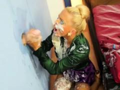 Blonde Mia Having Fun With This Gloryhole