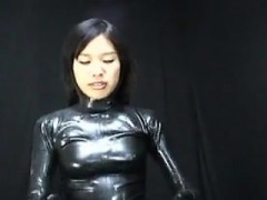 Date Her On Asia-meet.com – Japanese Latex Catsuit 65
