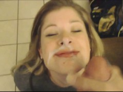 Sexy Teen Lass Pov Blowjob And Facial