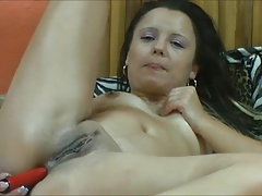 Dildo in Ass and than in Pussy
