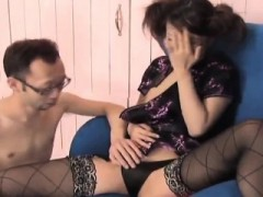 Ami Matsuda With Hot Bum Has Hairy Cunt Licked Under Sexy