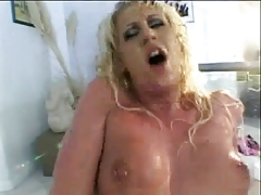 Black dick getting wet cunt