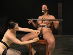 Lass Acquires Facial Torture With Hardcore Drilling On Cunt