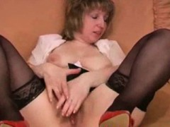 Hairy Russian Mom Loves Anal