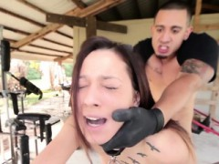 Bound Teen Fucked Roughly