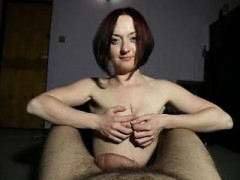 Sensuous Redhead Uses All Her Attributes And Skills To Plea