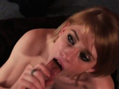 Wicked Model Gets Cumshot On Her Face Swallowing All The Spu