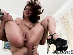 Ass Gaping Babe Anally Banged
