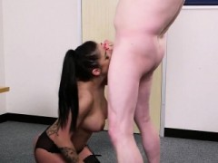 Slutty Centerfold Gets Cumshot On Her Face Eating All The Ej