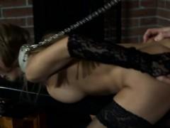 Hot Teen Bondage And Cumshot