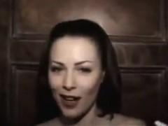 Nasty Brunette Teasing That Boner That Is Bad