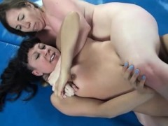 Horny Wrestling And Dildo Sex In Academy Wrestling