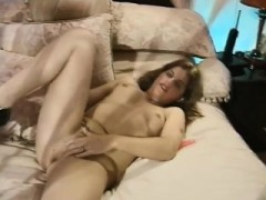 Passionate Milf Housewife Masturbation With Hairy Pussy