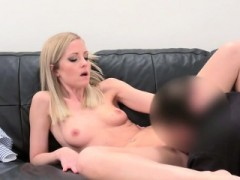 Blondie Sicilia Gets Licked By Fake Agent