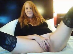Mature Redhead Sexed By Younger