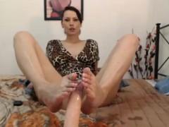 Kinky Foot Fetish Milf
