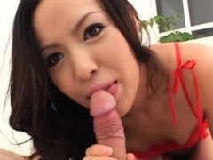 Hot Japanese Broad With Great Tits Gets A Valuable Creampie