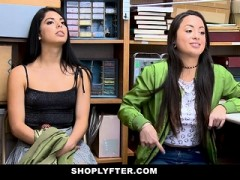 Shoplyfter – Twin Sisters Get Caught Shoplifting