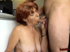 Greedy Granny Will Be Mad For Dude's Willy