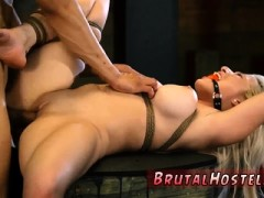 Dreaming Of You Bondage Big-breasted Ash-blonde Sweetie Cris