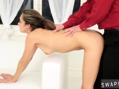 Chubby Blonde Teen Big Ass The Stretch And Swap
