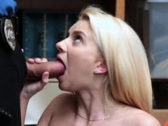 Pale Blonde Teen Getting Her Amazing Pink Pussy Stretched