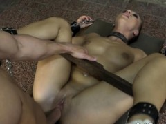 Pussyfucked Euro Submits To Masters Cock