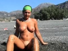 Big Boobs Hot Topless Milfs Voyeur Beach Amateur Video