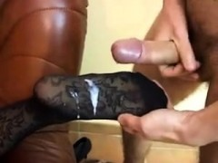 Busty White Fetish Hoes Feet Get Interracial Cumshot