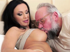 Teenager Rides Old Gramps