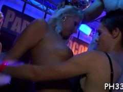2 Golden-haired Waiters Leaking Puss And Fucking One Doxy