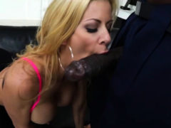 Blonde Alexis Fawx Gets Interracial Sex In Multiple Angle