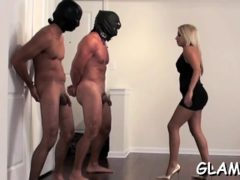 Small Beauty Shows Real Female Domination Punishing Paramour