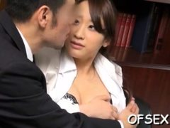 Irresistable Hottie Teases A Horny Boy In The Office