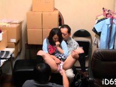 Delightsome Oriental Maid Adores Oral Games