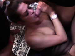 Huge German Creampie Cum Inside Gangbang Swinger Party