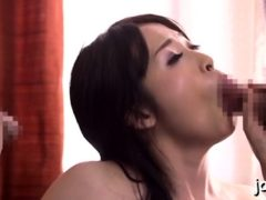 Aroused Eastern Diva Enjoys Facials After Sex