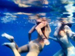Girls On Tenerife Underwater Lesbians