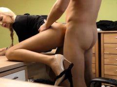 Loan4k. Adorable Miss Has Spontaneous Sex For Cash