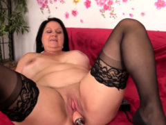 Mature Leylani Wood Lusts For A Machine